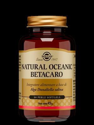NATURAL OCEANIC BETACARO 60 perle - softgels | Artemisiaerboristeria.it - 2054
