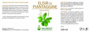 ELISIR DI PIANTAGGINE 200 ML | Artemisiaerboristeria.it - 1970