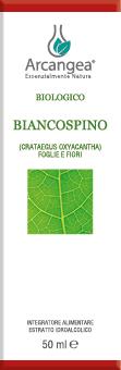 BIANCOSPINO FOGLIE FIORI BIO 50 ML ESTRATTO IDR | Artemisiaerboristeria.it - 1617