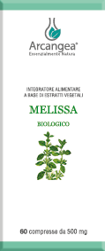 MELISSA BIO 60 COMPRESSE| Artemisiaerboristeria.it - 1722