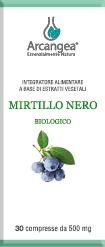 MIRTILLO NERO BIO 30 COMPRESSE | Artemisiaerboristeria.it - 1724