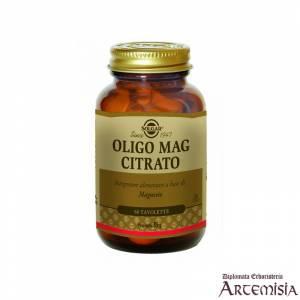 OLIGO MAG CITRATO SOLGAR 60tav. | Artemisiaerboristeria.it - 1389
