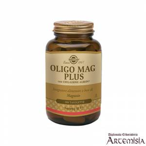 OLIGO MAG PLUS SOLGAR 100tav. | Artemisiaerboristeria.it - 1396