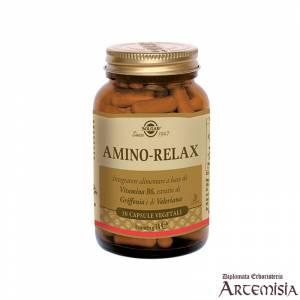 AMINO-RELAX SOLGAR 30cps.veg.   Artemisiaerboristeria.it - 1399