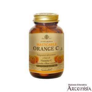 ORANGE C MASTICABILE SOLGAR 90tav. | Artemisiaerboristeria.it - 1412