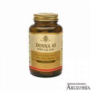 DONNA 45 - BORO CAL MAG SOLGAR 100tav. | Artemisiaerboristeria.it - 1419
