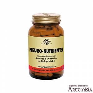 NEURO-NUTRIENTS SOLGAR 30cps.veg. | Artemisiaerboristeria.it - 1422