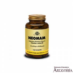 NEOMAM SOLGAR 120tav. | Artemisiaerboristeria.it - 1430